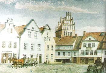 Allenburg Marktplatz