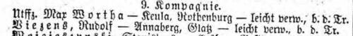 Max Wortha Liste Preußen 555 vom 15.06.1916