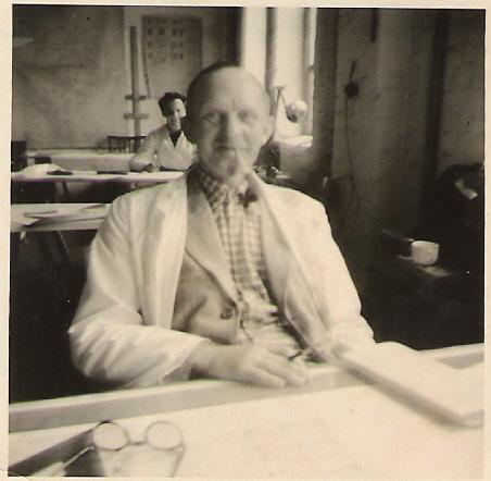 R.H. im Buero 1952