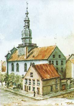 Wehlau Rathaus 1