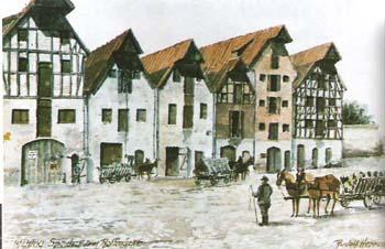 Wehlau Speicher am Rossmarkt